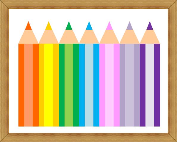 Word図形でイラスト,色鉛筆.奈良,奈良市,パソコン教室,大和西大寺,パソコンでイラスト,Word絵