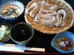 富山ブライダルエステアンジェ・ド・ポー蕎麦