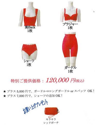 富山ブライダルエステアンジェ・ド・ポー Lacoco Lady Red コースA