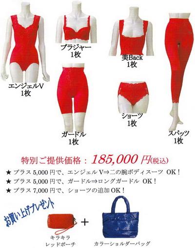 富山ブライダルエステアンジェ・ド・ポー Lacoco Lady Red コースE