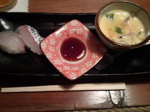富山ブライダルエステアンジェ・ド・ポー串の屋御通し寿司