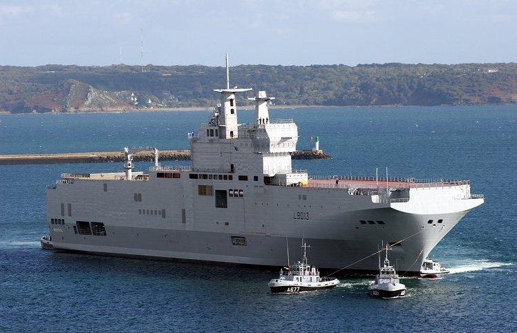ミストラル級強襲揚陸艦