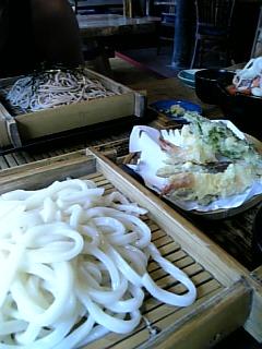 バリ島で天ぷらうどん