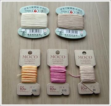 moco手縫い糸