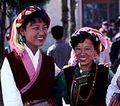 チベット族の女性