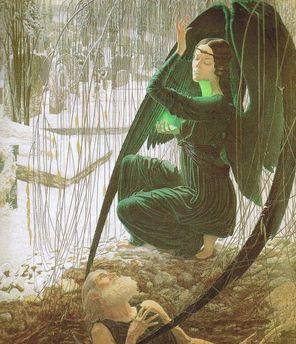 墓堀と死の天使