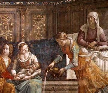 聖母の誕生部分2