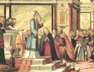 マリアとヨセフの結婚式