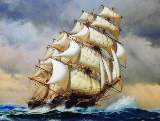 帆船フライング・クラウド