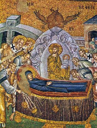 聖母マリアの死