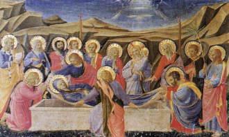フラアンジェリコ聖母マリアの死