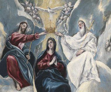 エル・グレコ聖母戴冠