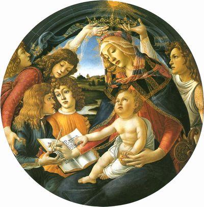 botticelliマニフィカトの聖母