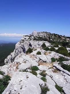 サント・ボームの山頂