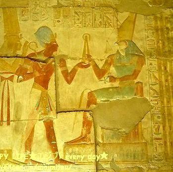 セティ1世とホルス神