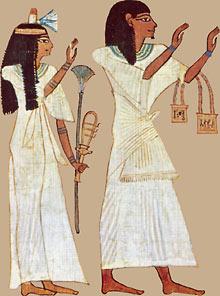 古代エジプトの服装