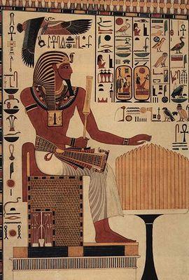 セティ1世の壁画