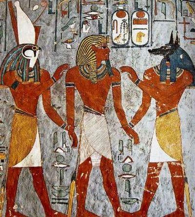 ラムセス一世の壁画