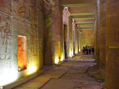 セティ1世神殿の内部