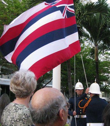 ハワイ旗小
