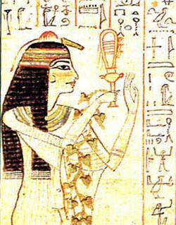 エジプト巫女