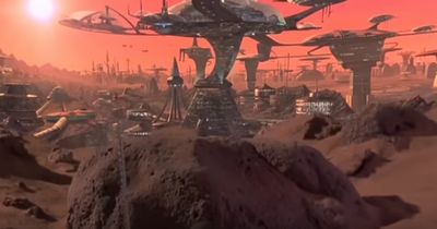 火星想像図