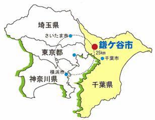 鎌ヶ谷地図