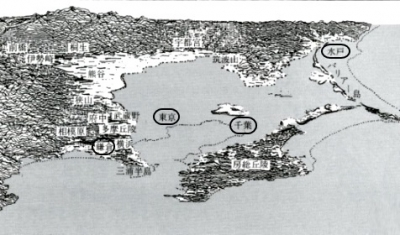 船橋地形1