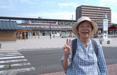 鹿島神宮駅前