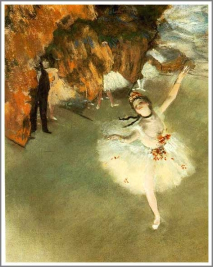 舞台の踊り子