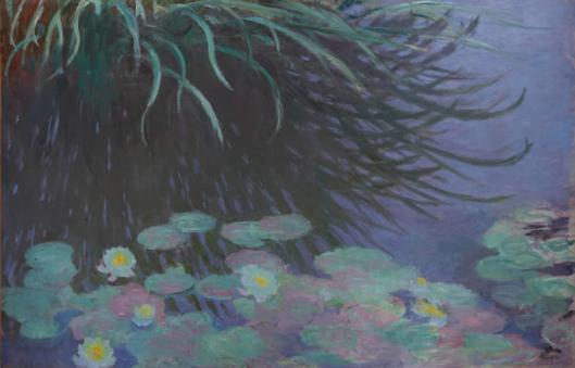 睡蓮、水草の反映