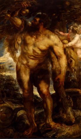 ヘスペリデスの園のヘラクレス