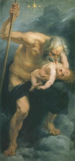 我が子を喰らうサトゥルヌス