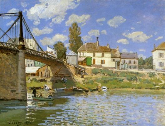 ヴァルヌーヴ・ラ・ガレンヌの橋
