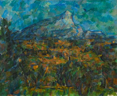 サント=ヴィクトワール山、レ・ローヴからの眺め