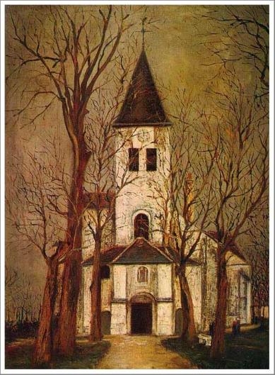 シャティヨン・シュル・セーヌ教会