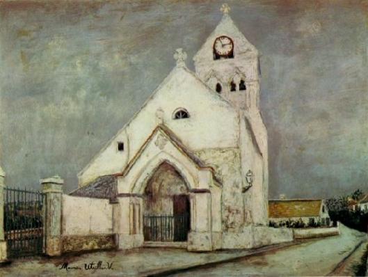 ドゥーユ村の教会