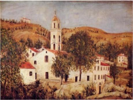 コルシカ島の教会