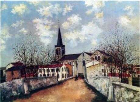 郊外の教会