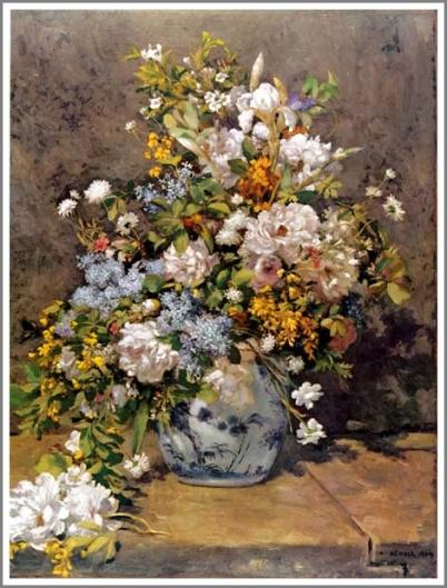 ルノワール 春の花