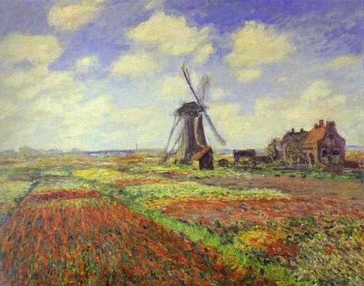 チューリップ畑・オランダ