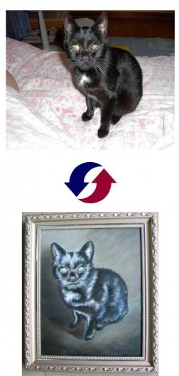 ペット 肖像画