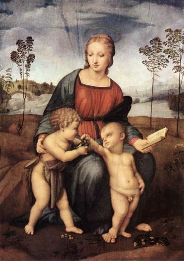 カルデリーノ(ゴシキヒワ)の聖母