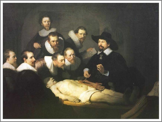 テュルプ博士の解剖学講義
