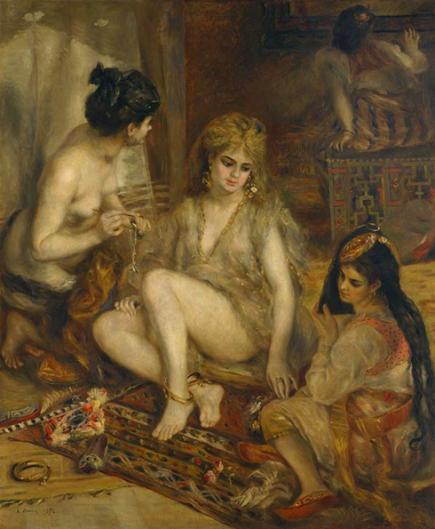 アルジェ風のパリの女たち