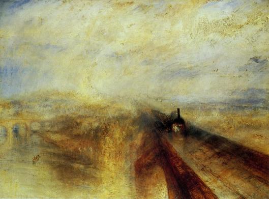 雨、蒸気、速度 グレート・ウェスタン鉄道