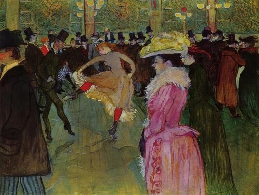 ムーラン・ルージュの踊り