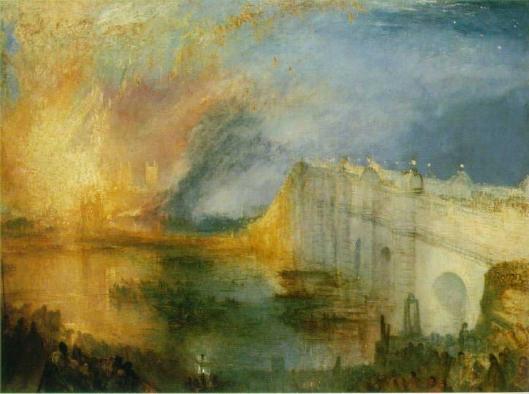 国会議事堂の火事 1834年10月16日
