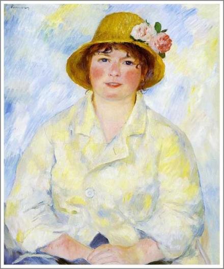 アリーヌ・シャリゴの肖像