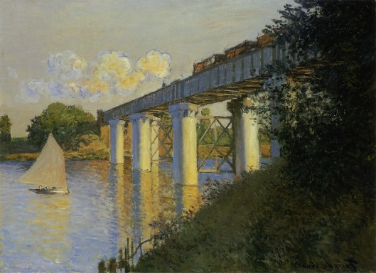 アルジャントゥイユの鉄道橋(鉄橋)